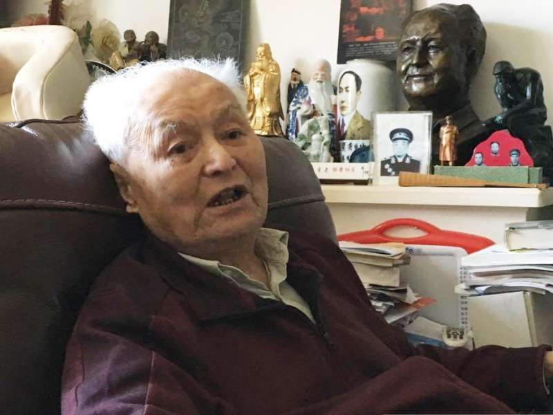 曾經擔任毛澤東前秘書的中國自由派元老李銳101歲病逝(取自網路)