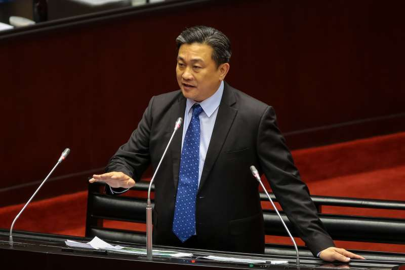 20190219-民進黨立委王定宇19日於立院質詢。(顏麟宇攝)
