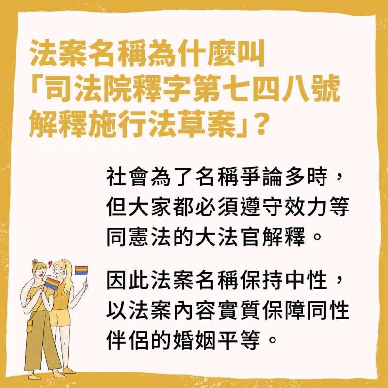 2019-02-20 行政院即將提出同婚專法草案,一系列懶人包說明這次修法內容2(行政院提供)