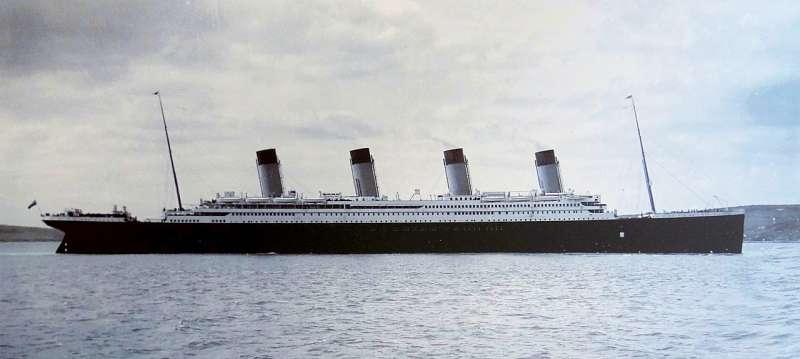 鐵達尼號(圖/維基百科)
