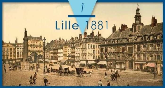 1881年的第一屆國際聖體大會。(取自國際聖體大會網站)