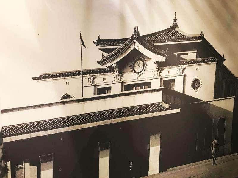 (翻攝自二二八國家紀念館「悲情車站」特展)