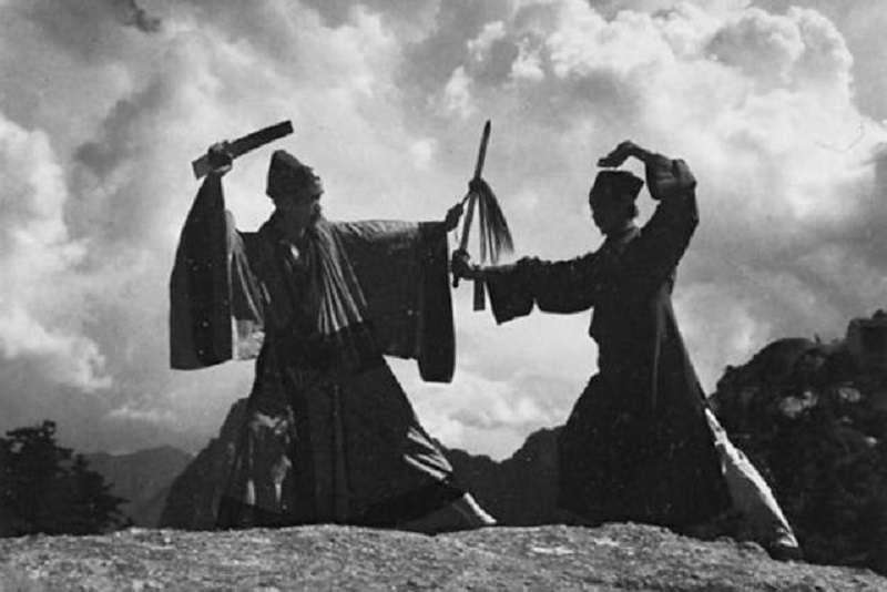 華山論劍老照片(1935)