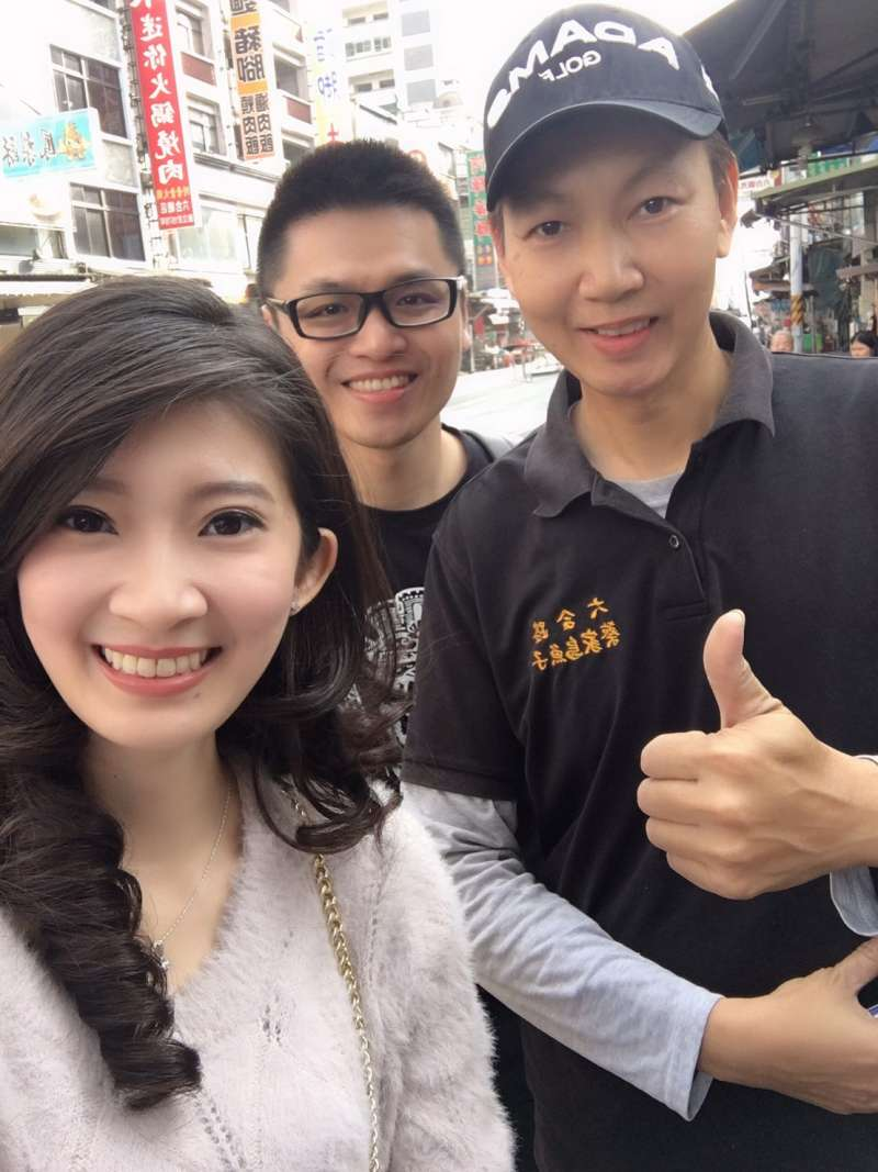 20190227_北漂最正女主持人李明璇(左)。(資料照,取自李明璇臉書)