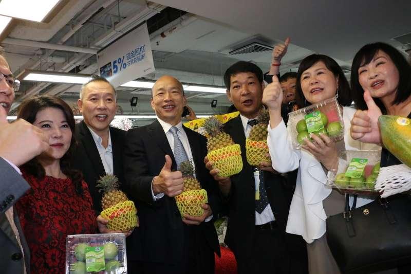 高雄市長韓國瑜率團參訪五天,簽署總價值5685億元新台幣的農漁訂單、億元合作意向書,預計今晚返抵國門。(圖/高雄市政府提供)
