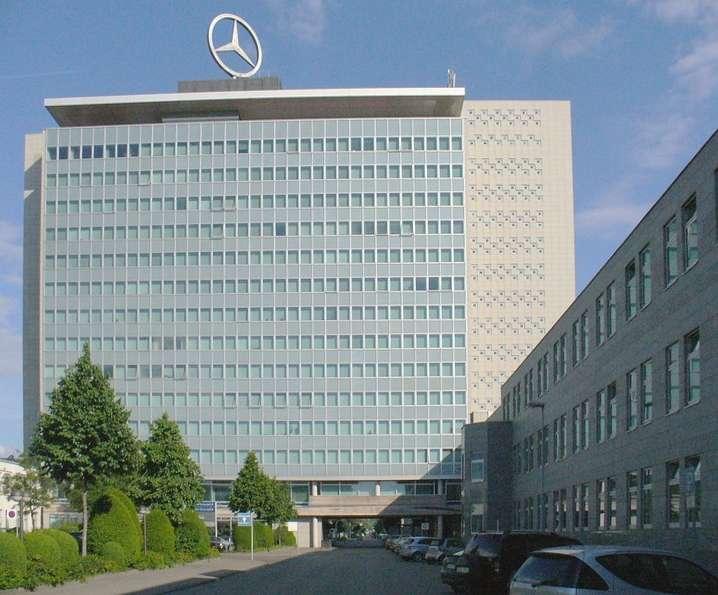 戴姆勒集團位於德國司徒加特的企業總部。(Enslin@Wikipedia/CC BY-SA 3.0)