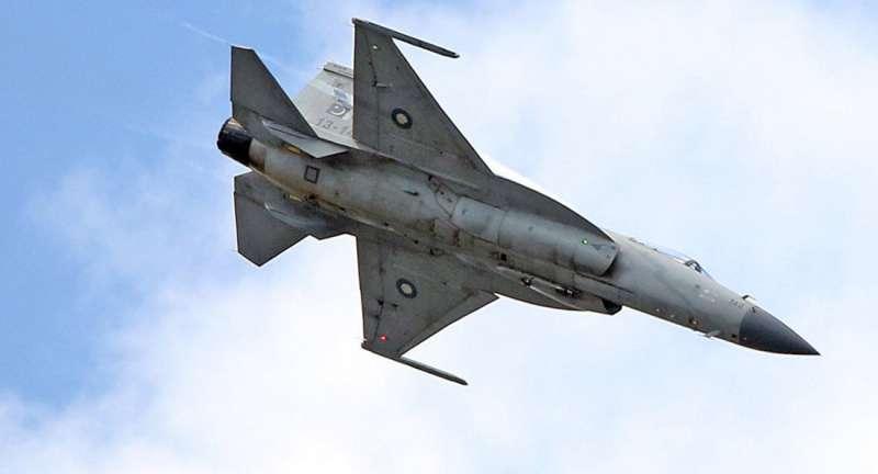 JF-17 Thunder梟龍。(美聯社)