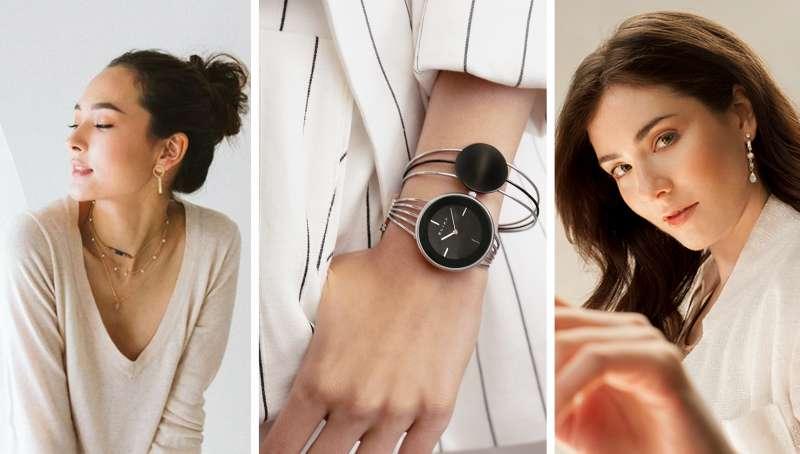 手錶搭配度高,搭配合宜飾品讓輕熟女魅力更動人(圖/RAY FAIR)