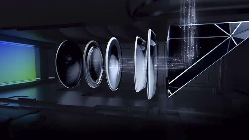 OPPO 的 10 倍混合光學變焦技術。(圖/愛范兒ifanr)