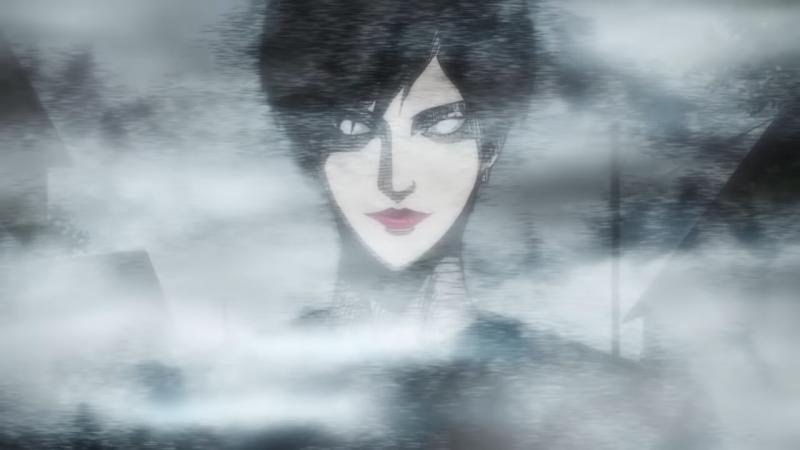 《至死不渝的愛》中的重要角色,十字路口的黑衣美少年(圖/截自Muse木棉花-TW @YouTube)