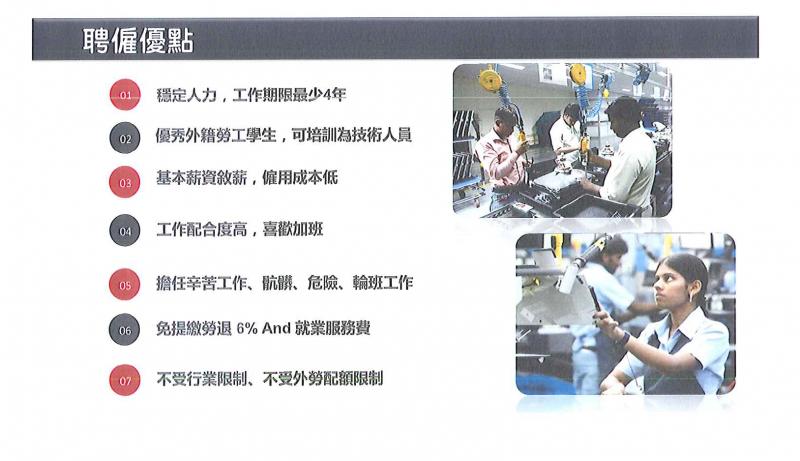 20190307-東南科技大學「新南向政策產學國際專班產業實習推動計畫」簡報。(取自東南科大簡報)