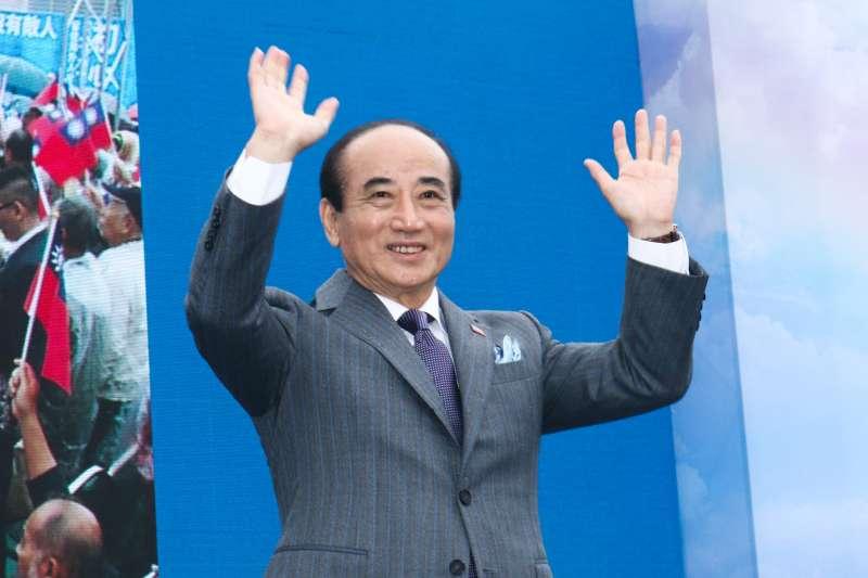 20190307-前立法院長王金平宣布參選2020總統大選。(蔡親傑攝)