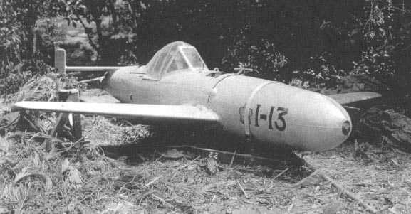 神風特攻隊特別研發了一種新型戰機,名曰「MXY-7,櫻花」,這種飛機體積小,速度快,不過更可怕的是它能夠攜帶近本身體積一半的炸藥。(圖/維基百科)