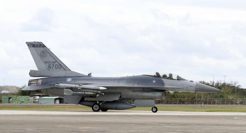 F-16戰機。(蘇仲泓攝).jpg