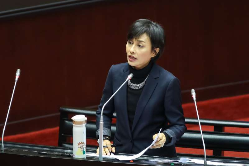 20190308-民進黨立委邱議瑩8日於立院質詢。(顏麟宇攝)