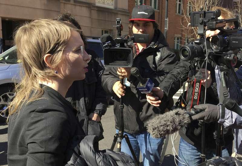 2019年3月8日,前美軍曼寧出席聽證會,但因拒絕作證遭法官以藐視法庭為由判處即刻入獄。(AP)