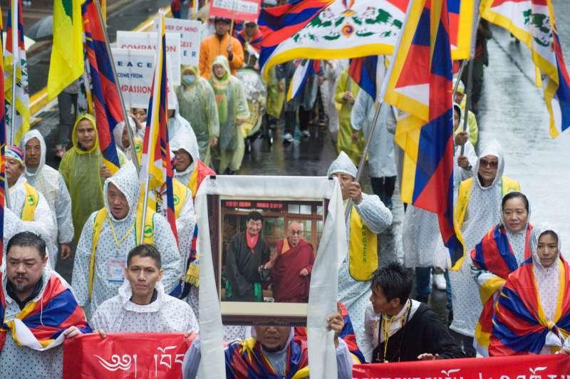 20190310-310西藏抗暴日60周年大遊行。(甘岱民攝)