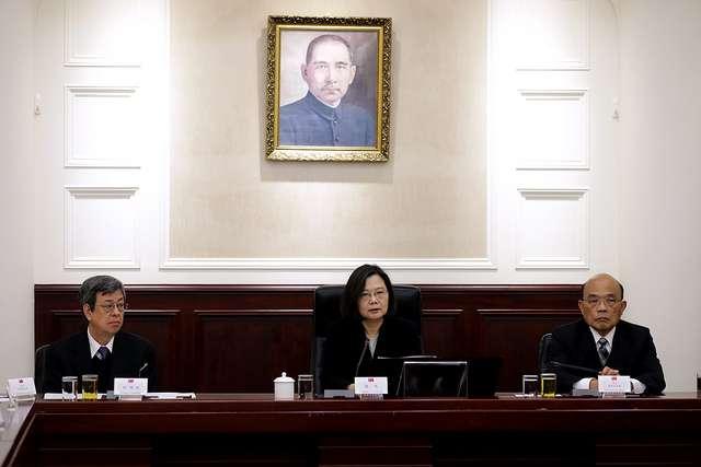 總統蔡英文11日召開國家安全會議,確立中國「一國兩制台灣方案」因應方針與機制。(總統府提供).jpg