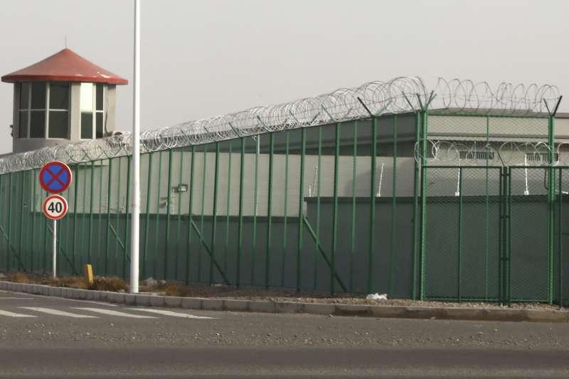 中國新疆再教育營(AP)