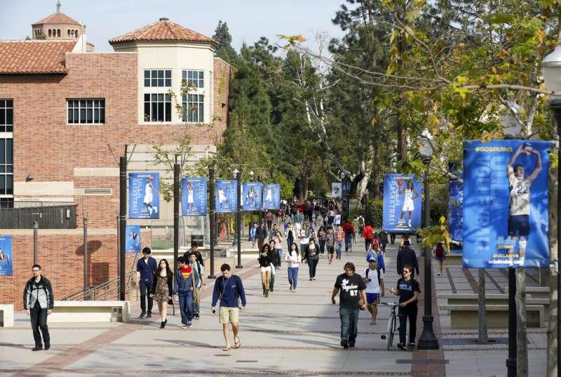 美國加州大學洛杉磯分校。(AP)