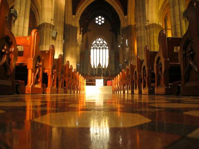 澳洲聖派翠克大教堂。(AP)