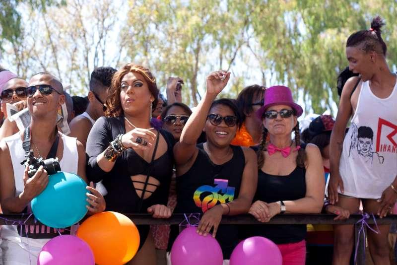 南非開普敦同志遊行。(Samantha Marx@Wikipedia/CC BY 2.0)