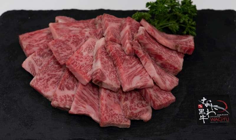 浪花黑牛不僅保持肉質的纖維柔軟,更有著油而不膩的入口即化口感。(攝影/鱷魚哥)