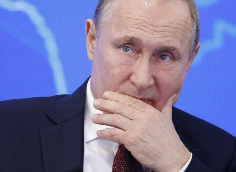 俄羅總統普京(Vladimir Putin)(AP)