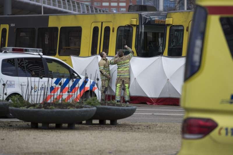 2019年3月18日,荷蘭中部大城烏特勒支發生槍擊案,造成多人死傷(AP)