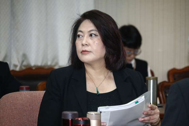 20190318-NCC主委詹婷宜出席立院交通委員會列席施政報告。(蔡親傑攝)
