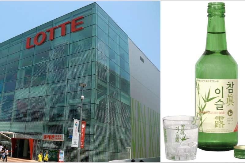 大型集團樂天(LOTTE)和燒酒真露集團的會長都涉嫌在內(圖/維基百科)