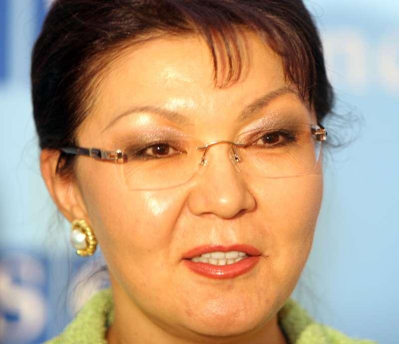 哈薩克總統納扎爾巴耶夫(Nursultan Nazarbayev)長女達莉佳(Dariga Nazarbayeva)(Wikipedia / Public Domain)