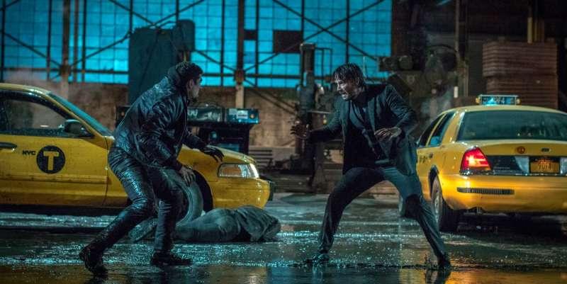 以廣角鏡頭、定鏡拍攝打鬥場面的《捍衛任務2》(圖/影製所DC FILM SCHOOL)