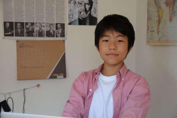 為了精進程式語言能力,山內奏人曾在募資網站上籌集ISAK暑期學校的學費。(圖/取自moonshot)