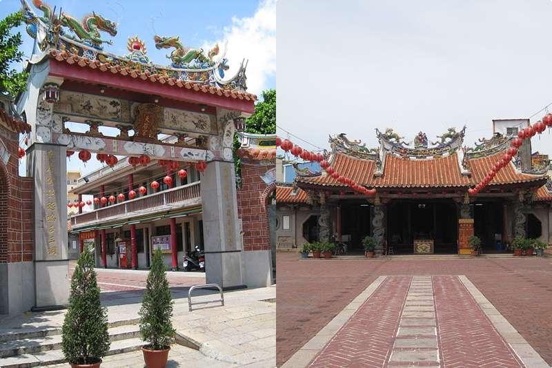 新祖宮(圖/維基百科|風傳媒合成)