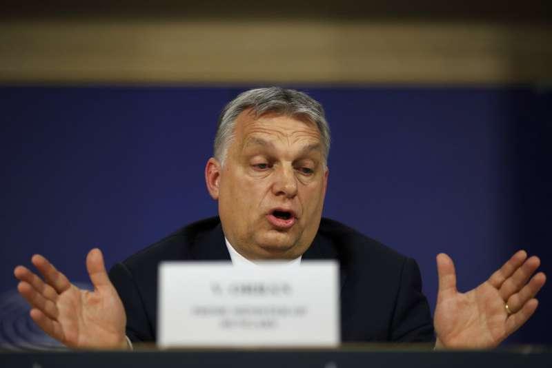 匈牙利總理奧爾班。(美聯社)
