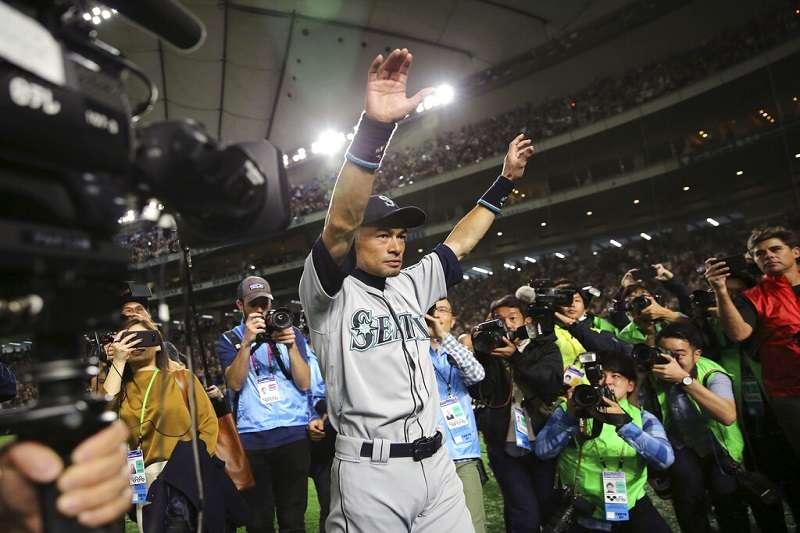 鈴木一朗於昨日打完最後一場比賽,向外界宣布正式退休。(美聯社)
