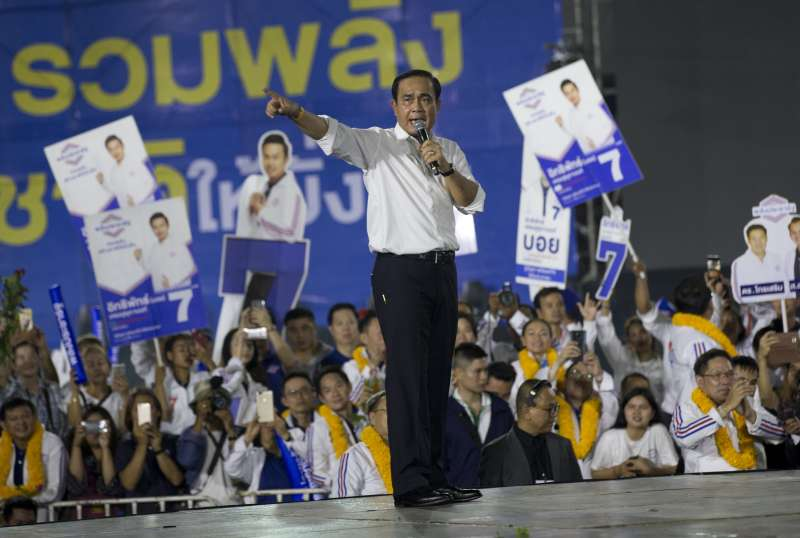 泰國現任總理帕拉育很可能成為新總理(美聯社)