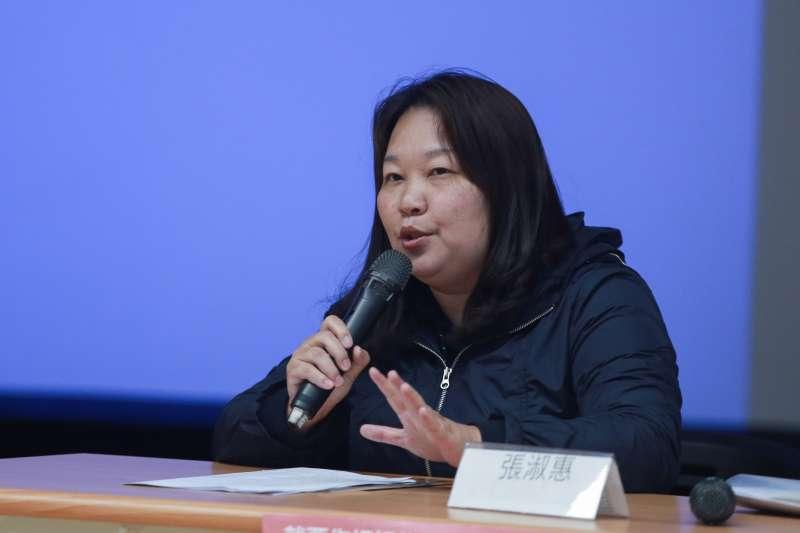 20190324-台灣親子共學教育促進會常務理事張淑惠24日出席兒虐講座「從醫學談兒童安全」。(簡必丞攝)