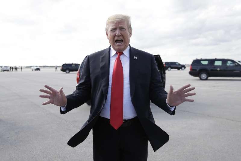 通俄門風暴:美國總統川普擺脫通俄疑雲(AP)