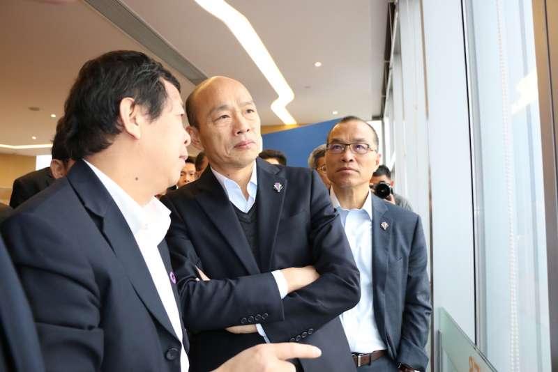 韓國瑜說,此行深刻體會到各地多交朋友、多鋪道路、掃除圍牆,並把心靈打開。(圖/高雄市政府提供)
