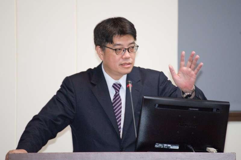 20190325-立法院經濟委員會,陸委會副主委邱垂正。(甘岱民攝)