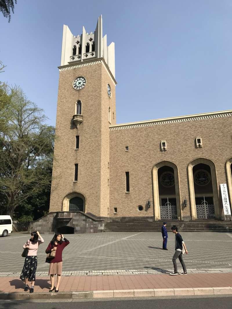 20190326-大隈講堂是早稻田校園的地標建築。(李清志攝)