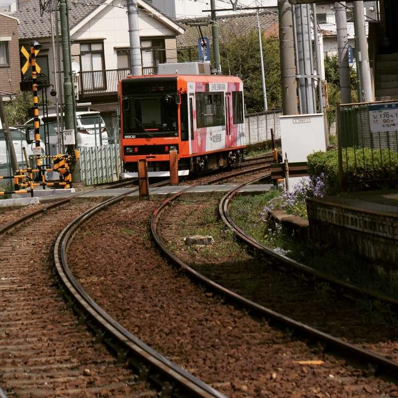20190326-東京懷舊電車。(李清志攝)