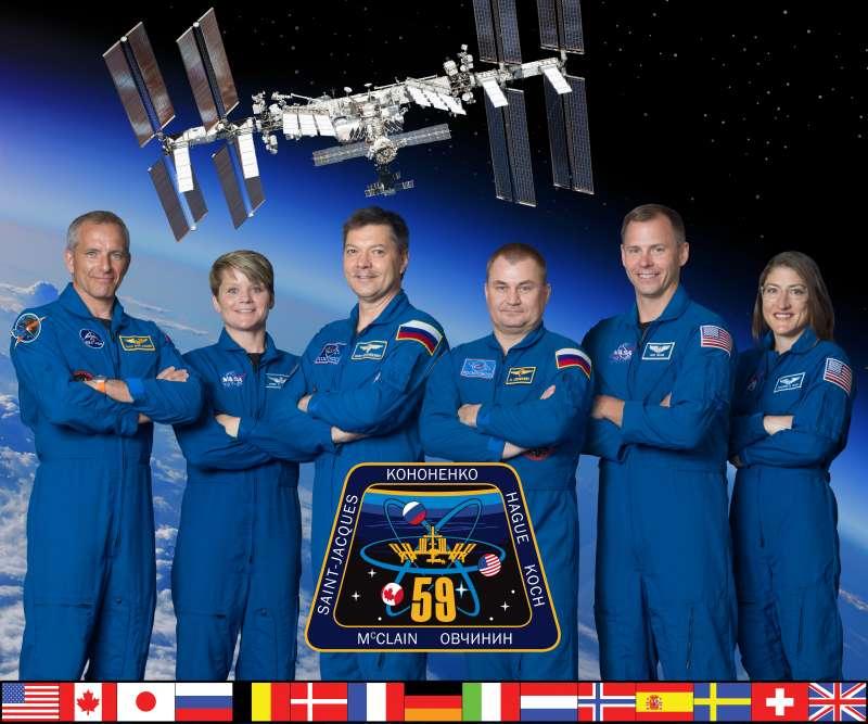 美國NASA「遠征59」太空漫步任務的太空人。(Wikipedia / Public Domain)
