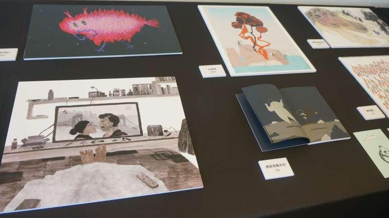 20190326_波隆那插畫展,台灣2入圍插畫家作品展示。(台北書展基金會提供)