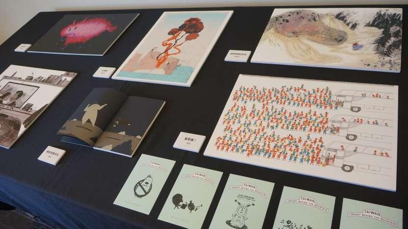 20190326_波隆那插畫展,台灣3入圍插畫家作品展示。(台北書展基金會提供)