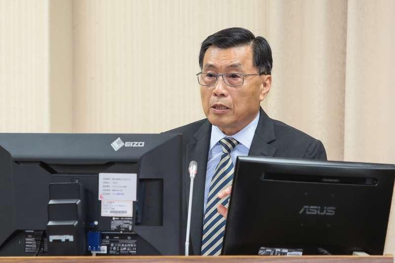 20190327-國安局長彭勝竹27日於外交國防委員會備詢。(顏麟宇攝)