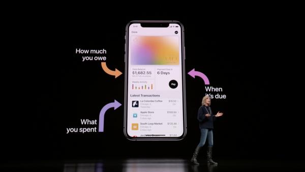 擁有Apple Card的用戶,能將錢包App作為信用卡消費管理的助手。(圖/Apple,數位時代提供)