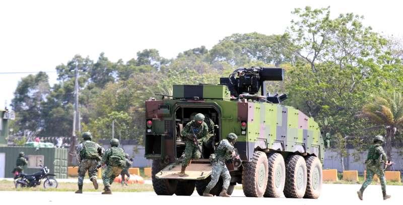 20190328-陸航602旅營區開放全兵力預演,空地整體作戰演練。(陸軍司令部提供)
